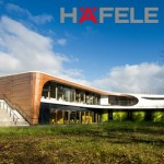 Architecture Hafele present in Youth Hostel Bayreuth pilot project of a new generation of hostels