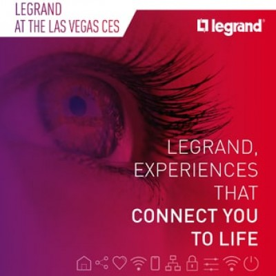 CES 2019 - LEGRAND announces new experiences to improve workplace quality of life