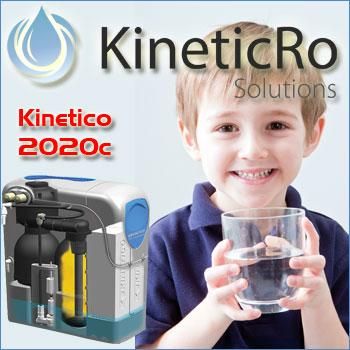 Company Kinetico Water Softener System. Description and contact information.