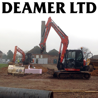 Company Deamer Ltd Ground Works & Demolition. Description and contact information.