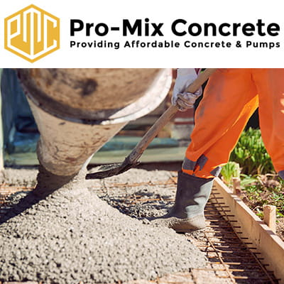 Company Pro Mix Concrete Ltd. Description and contact information.