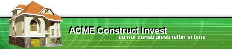 Company ACME Construction Invest. Description and contact information.
