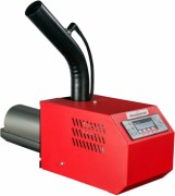 MPB pellet burner automatically