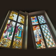 Modern stained glass - decorative panels