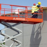 DS32 4×4 Diesel Scissor Lift from the company Advanced Access Platforms