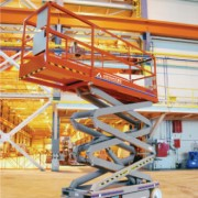 ES20 electric scissor lift from the company Advanced Access Platforms