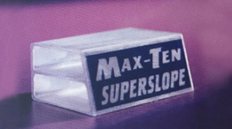 MAX-TEN Superslope aluminium frame