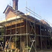 Domestic Scaffolding London, offered by the company A Star London Scaffolding
