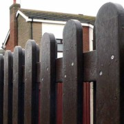 Recycled Mixed Plastic Fencing Pales, offered by the company Kedel Limited