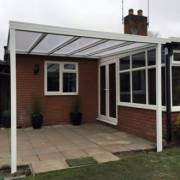 7.0 m Wide Evolution 16 mm Polycarbonate Roof Canopy System