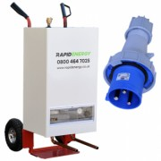 15kW Electric Mobile Boiler from the company Rapid Energy Ltd