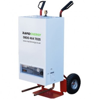 22kW Electric Mobile Boiler, Rapid Energy Ltd company