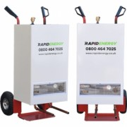 40kW Electric Mobile Boiler from the company Rapid Energy Ltd