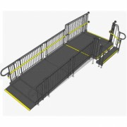 Fully compliant modular ramp